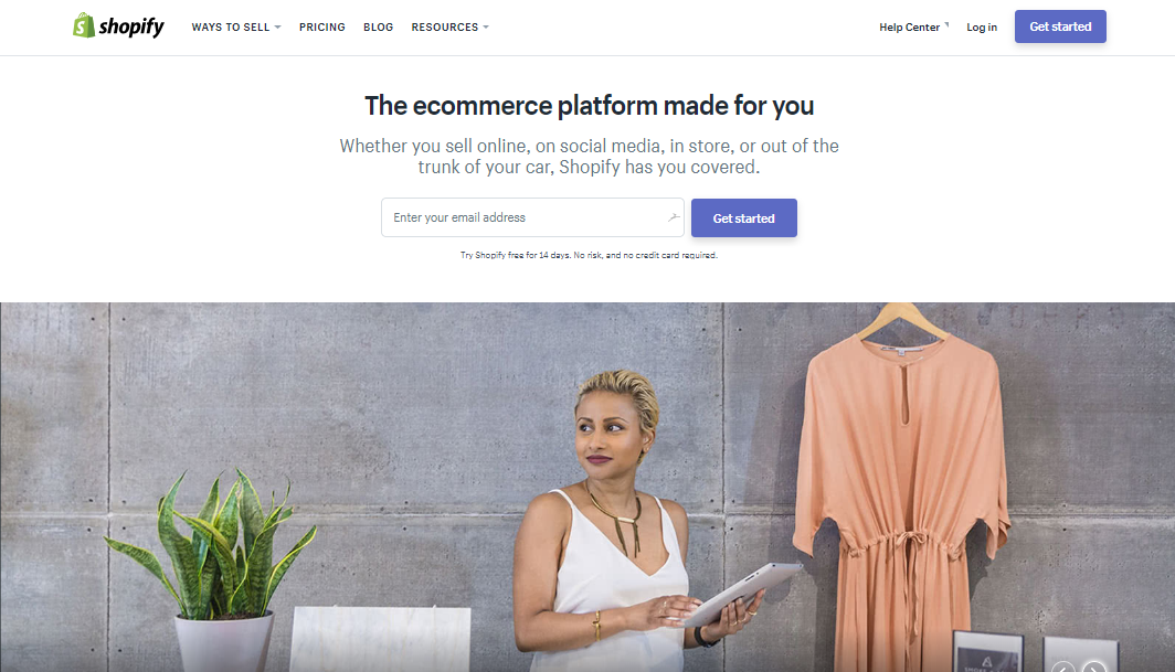 what is ecommerce - Shopify
