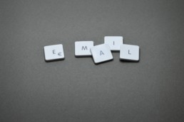 An image of scrabble words making up the term