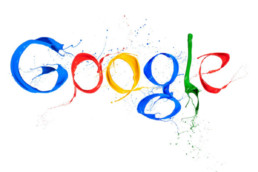 An image of Google's signage