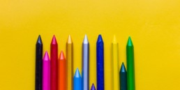 An image of artistic crayons.